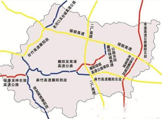 襄阳附近地图景点手绘
