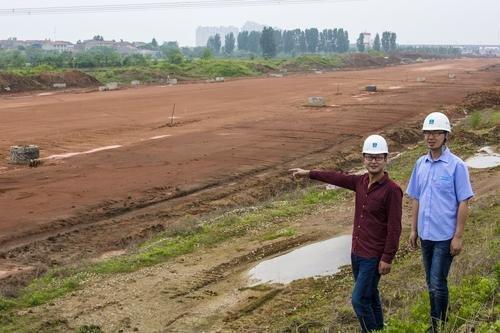 凤凰港大道 建设孝感生态型城市道路