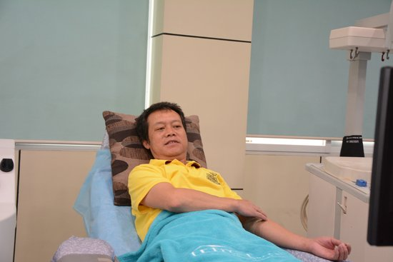 百次献血达人——李国汉