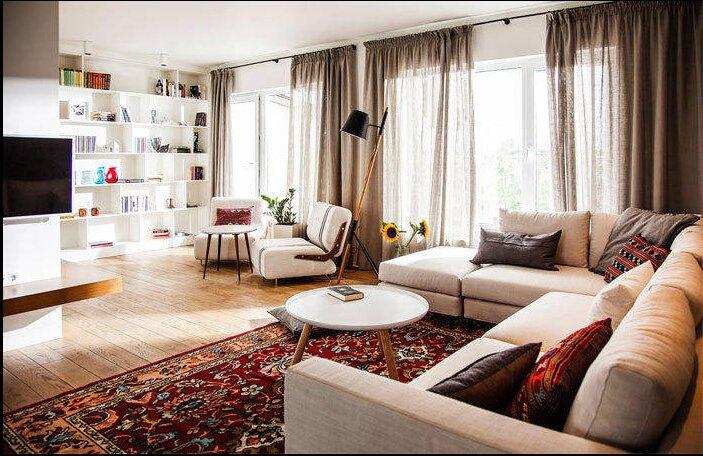 漂亮优雅的现代公寓设计
