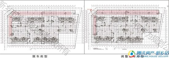 正商城2号楼、3号楼户型调整及增加地下机械车位的公示