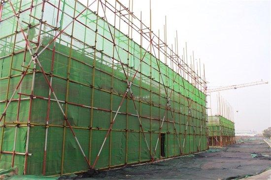 好房子是这样盖起来的—新乡五金机电城工程进行时