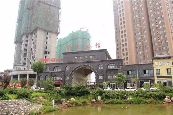 华天公馆6月最新工程进度