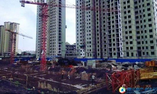 润田·金域蓝湾工程进度播报