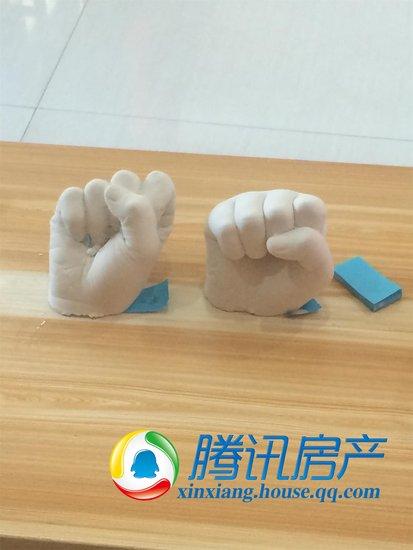正岁月手掌DIY封存开始立体的印记3d手模商城文胸图片