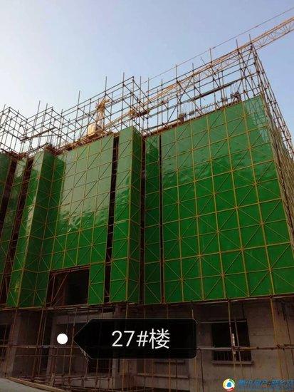 【家音播报】建业壹号城邦十一月最新工程进度