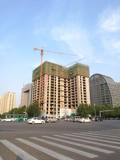 星海中心最新工程播报——南北双塔19层在建