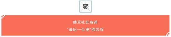"""【茶语名都·活力城】社区商铺——""""最后一公里""""的诱惑"""