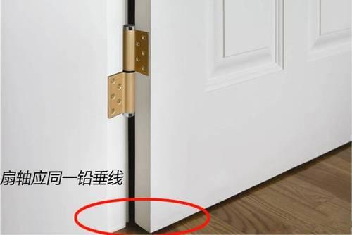 铰链的连接方式应与框,扇的材质相匹配,如钢框木门所用的合页,与钢框