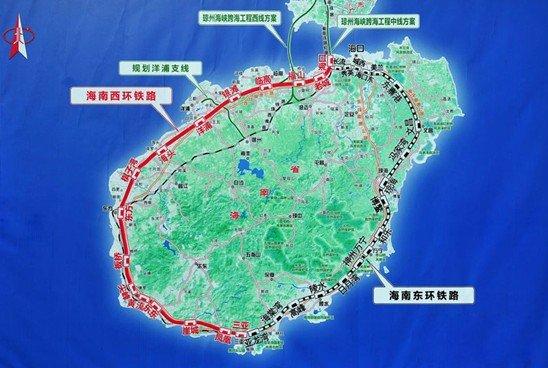 把沿海各市县连为一体,坐高铁环岛一圈仅需4小时左右.