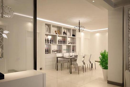 现代简约两居室设计思路