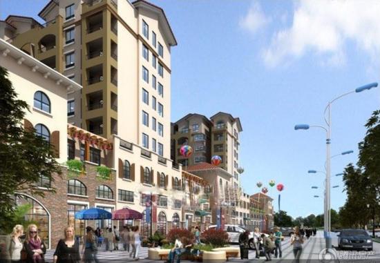 宏远湖景国际新城采用地中海建筑风格而建 房型多