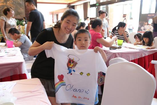 【中铁·滨江名邸】创意T恤亲子DIY 你嗨了吗