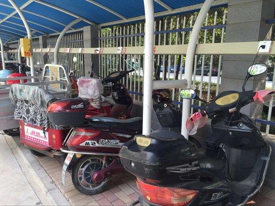 许昌首批11个小区将新建电动车充电车棚图片