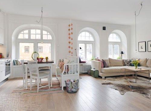 幻想主义 北欧风格客厅八个样板图片