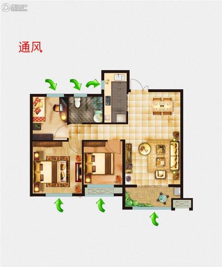 走廊两侧墙壁可以进行创意手绘或者画框装饰,顶面的灯光设计应与相邻