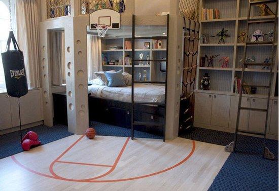 篮球场创意墙绘