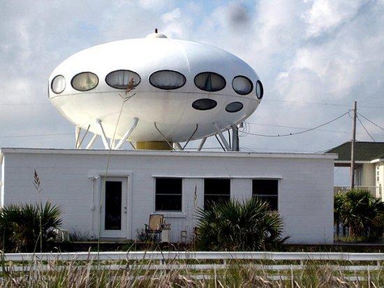 全球古怪异型建筑 会跳舞的房子