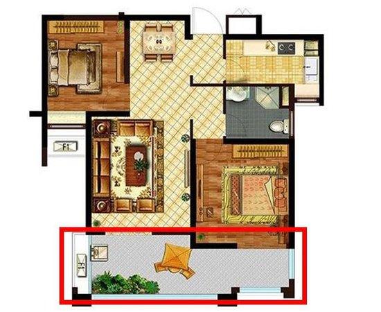 华润橡树湾热销两房:93平两室两厅一卫 年终特惠 5套特...