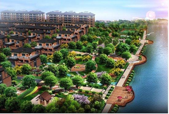 """七河八岛度假别墅""""伴岛"""" 沿河景观将完美呈现"""
