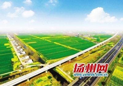 """连淮扬镇铁路开建 扬州成省内率先""""县县通高铁""""城市"""