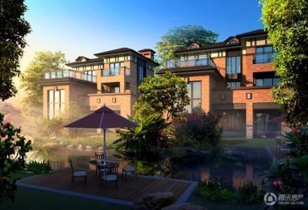 伴岛别墅在售别墅48万起现场签约惠一个点_频小北京郊区租房首付图片