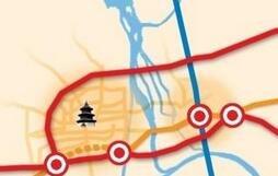 快速路往江都方向延伸已预留空间
