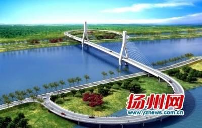 界首运河大桥开工 当地运河两岸居民将告别渡船过河