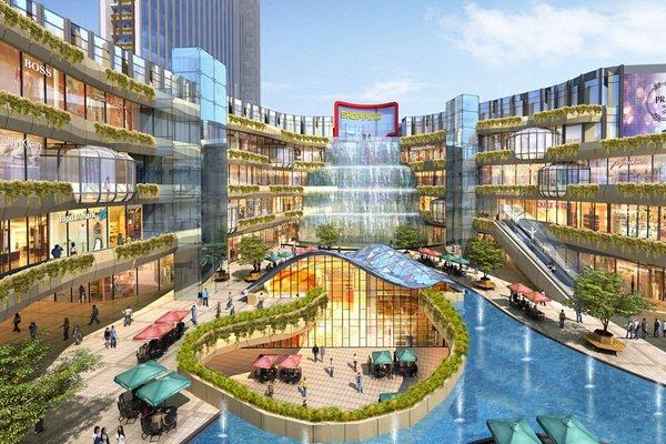 一楼规划有下沉式广场,可以俯瞰负一楼.                   【详细】图片