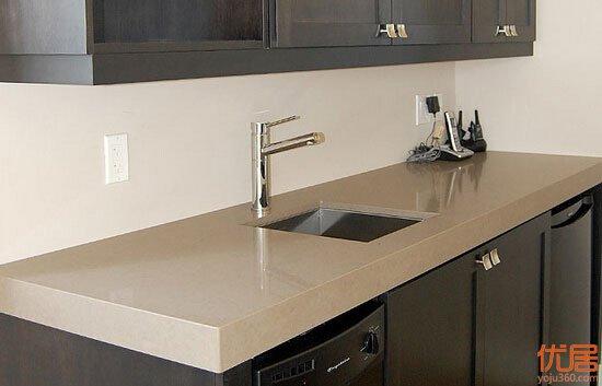 六种材质的橱柜台面 看看分别有哪些优缺点