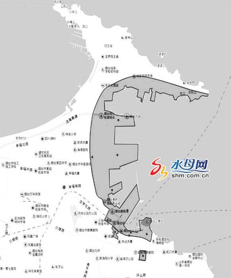 烟台芝罘湾区片7个项目强力推进 一突堤进入土地整理程序