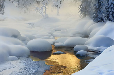 雪遇山海 别样冬韵 在山海湾 倾听雪落