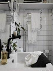 >瑞典50平黑白简约质感公寓