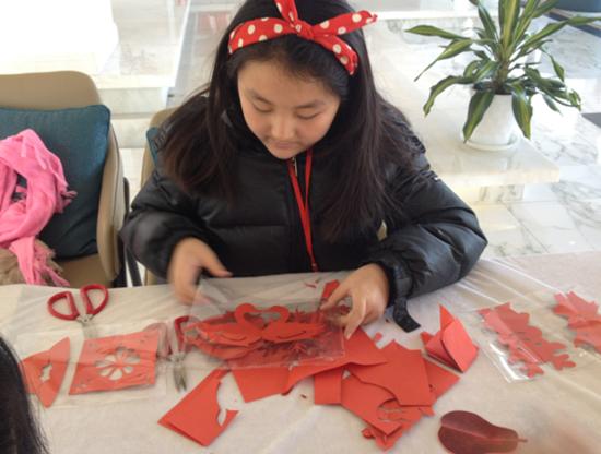 【招商·马尔贝拉】创意剪纸 温暖寒冬