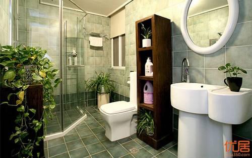 卫生间布局风水讲究:马桶不要正对镜子