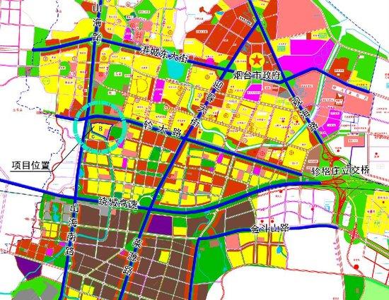 莱山区曹家庄旧村改造B地块规划建筑调整方案公布