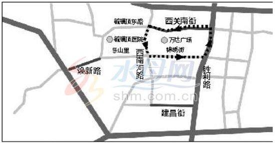 东莞万达停车场平面图