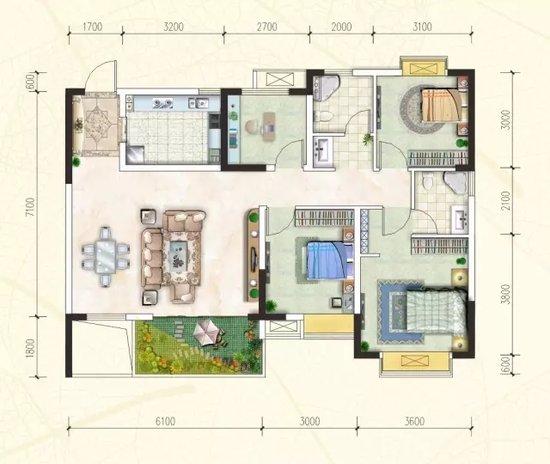 你理想的家是多少平?万豪公园里万元购房优惠申请中