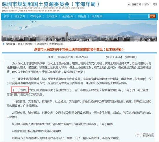 这个城市恢复行政划拨供地 显示中国土地制度变革方向