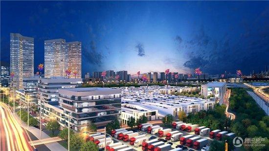 三峡果蔬交易中心预计将于12月30日营销中心开放