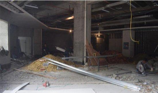 桃花缘超市火热装修中 二期LOFT公寓5月1日发售