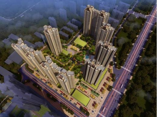 11月3日保利中央公馆万达广场城市展厅盛装开放