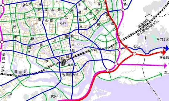 阳江市城市综合交通规划 2016 2030年 方案出台