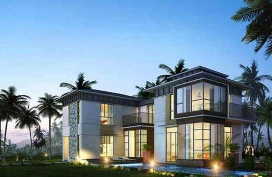 保利海陵岛主推建面50-110㎡公寓 均价9500元/㎡