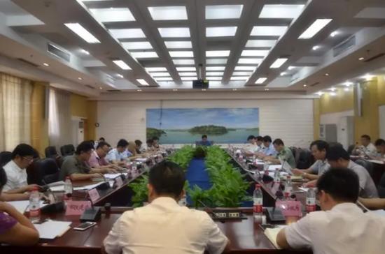 永州铁路枢纽建设协调领导小组会议召开