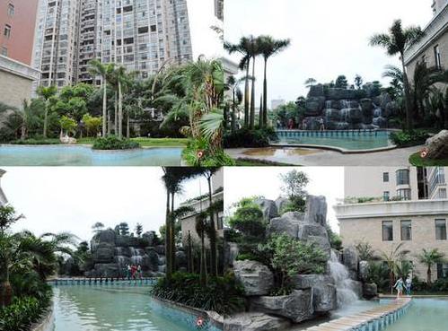 """酷热已经来临 永州最""""凉快""""优质避暑楼盘之城市绿岛"""