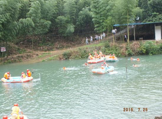众行天下:永州民丰众泰汽车大木源漂流自驾游