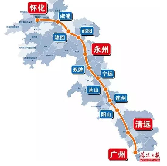 """三条新高铁力撑""""潇湘城市群"""""""