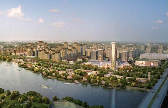 湘江两岸起宏图 2个引人尖叫的新项目震惊永州