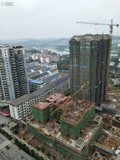 水墨蘭庭1#已建至第6层